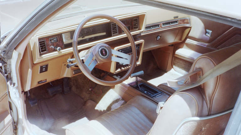 All original interior.